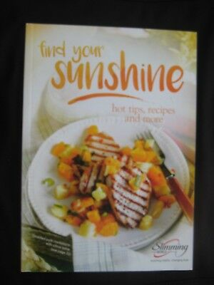 Slimming World Find Your Sunshine Tips And Recipes Book