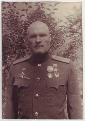 Russia Wwii Heroes Serie Photo: Infantry General, Hero Of Soviet Union