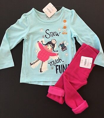 Gymboree Girls Kitty Tee /& Leggings Lady Bug Outfit NWT 2T 3T 4T 5T $39.90