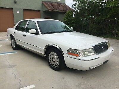 2004 Mercury Grand Marquis GS Edition - Luxury Touring Sedan One Owner Certified -  77k miles - 100% FL Owned - Perfect Carfax - No Accidents