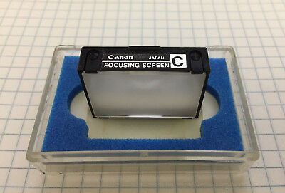 Canon F-1 & F-1n Focus Screen C All Matte EXC