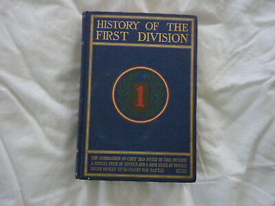 History of The First Division in WWI, WWI Unit History Book