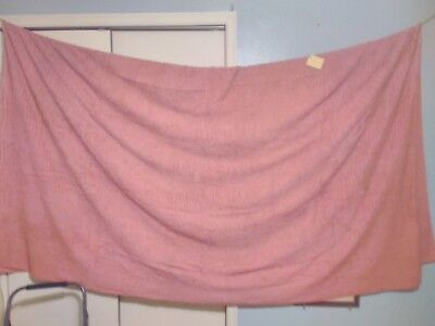 "Vintage Bedspread	Candlewick Dusty Pink	100"" x 95""   #113"