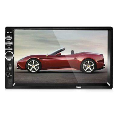 Car Stereo 7' HD touch Screen Auto Radio with Bluetooth MP3/MP4 Handsfree Call