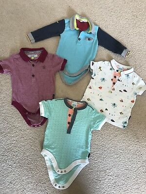 Baby Boy Ted Baker Bundle 6-9 Months Summer Autumn Long Short Sleeve Polo Tshirt