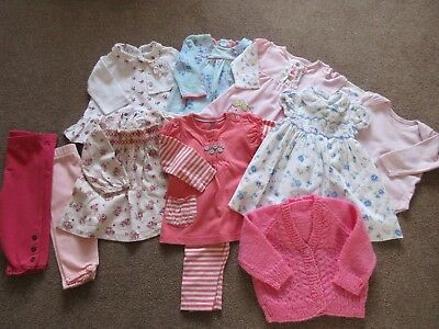 Girls baby clothes bundle for age 3-6 months