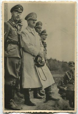 German Wwii Photo From Russian Archive: Men In Uniforms