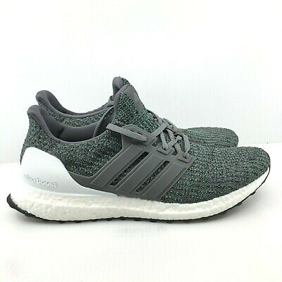 low priced 00f43 9ea2c [CP9251] MEN'S ADIDAS UltraBoost Ultra Boost 4.0 Running Sneaker - Grey  Green