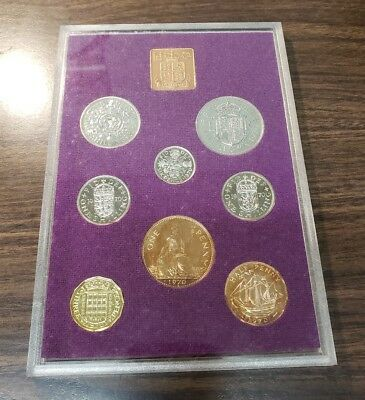 Coinage of Great Britain and Northern Ireland 1970 8 Piece Proof Set