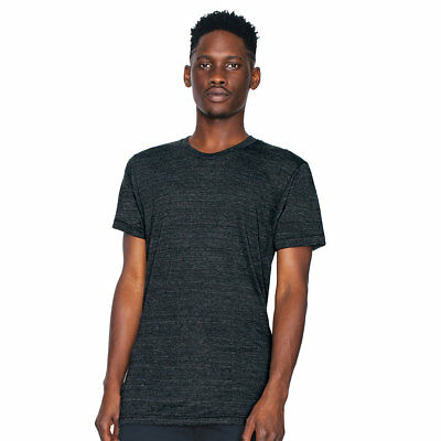 Tr401 American Apparel Usa Made Unisex Tri-Blend Track Tee Xs-2Xl 4 Colors-New!!