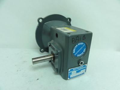 175057 Old-Stock, Boston Gear F713-30-B5-J Right Angle Gearbox 30:1 Ratio, 0.39H