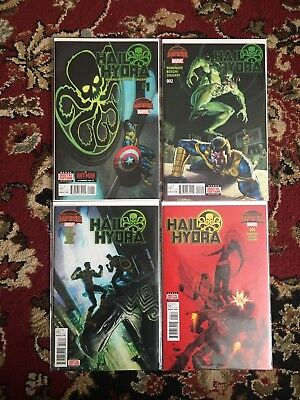 Hail Hydra Comic Secret Wars Remender Lot