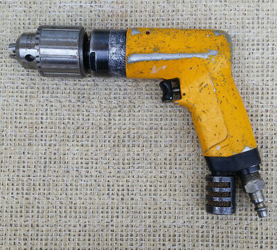 "ATLAS COPCO LBB 36 H033 Air Drill Motor with JACOBS 1/2"" Chuck, 3300 rpm"