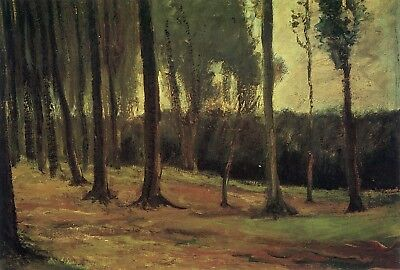 Vincent van Gogh - Edge of a Wood, 1882 Hand Painted Canvas Oil Painting
