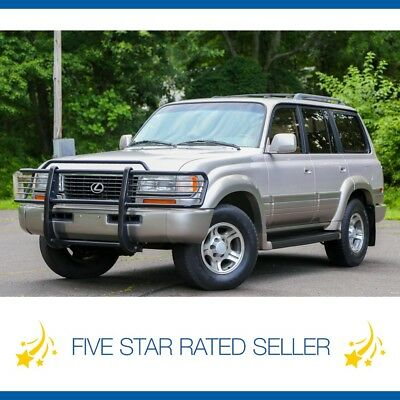 Lexus LX LX450 3rd ROW Tow Package CARFAX Land Cruiser FJ80 1997 Lexus LX450 3rd ROW Tow Package Cd Changer CARFAX Land Cruiser FJ80