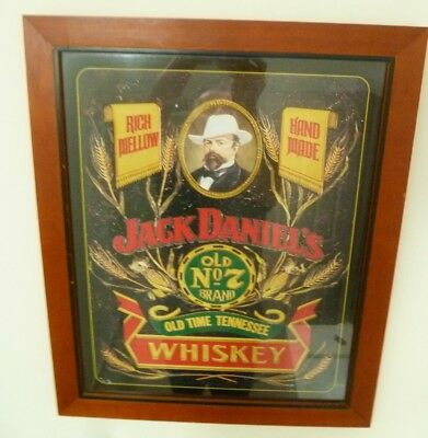 Framed Jack Daniels Old Time Tennessee Whiskey Print
