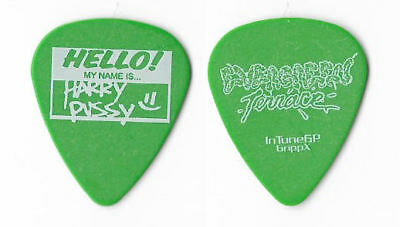 Evergreen Terrace white on green Guitar Pick
