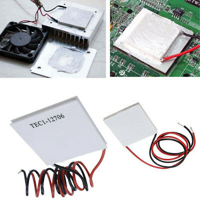 Thermoelectric Cooler 12V TEC1-12706 Plate Module Semiconductor Refrigeration RD
