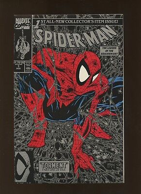 Spider-Man 1 VF/NM 9.0 (Silver Edition) * 1 Book Lot * Todd McFarlane!