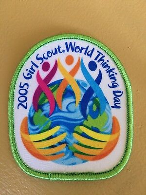 Girl Scout Patch - Thinking Day 2005 - New - Qty1