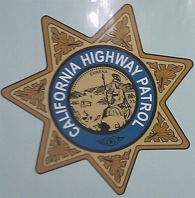 """5"""" CHP """"CHiPS"""" 1955-1998 Decal HIGHWAY PATROL"""