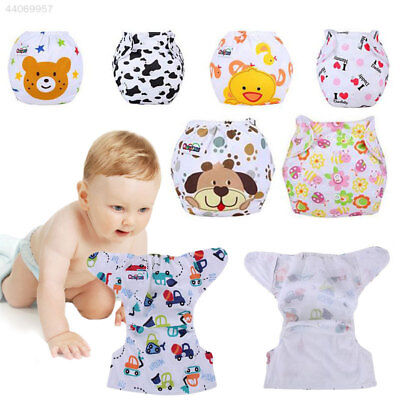 Baby Toddler Adjustable Washable Reusable Cloth Diaper Nappy Cover Wrap Soft