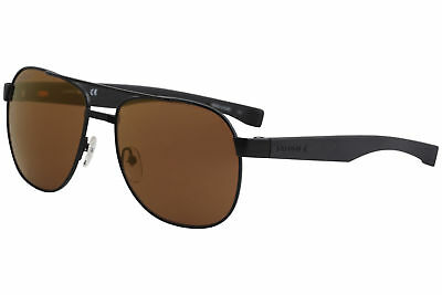 16e1295cee6 LACOSTE MEN S L186S L 186 S 001 Matte Black Fashion Pilot Sunglasses 57mm -   49.95