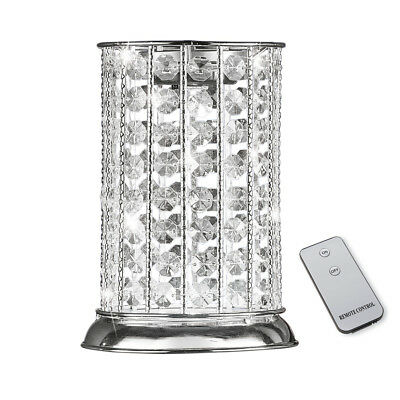 Crystal Beads Jeweled LED Table Lamp w/ Remote, by Collections Etc