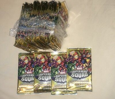 Lot NEW MARVEL SUPER HERO SQUAD TATTOO POP-UP TRADING CARDS 2009 ** Look 4 MORE