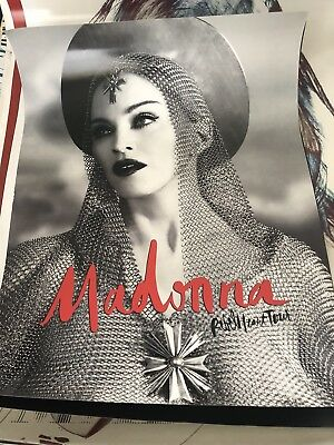 Madonna Joan Of Arc 18 x 24 Rebel Heart Tour Out Of Print Official Poster