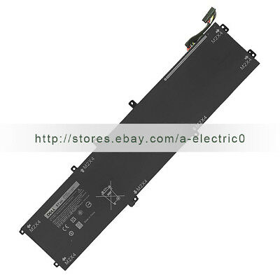 Original 6GTPY 5XJ28 battery for Dell XPS 15 9560 9550 i7-7700HQ 11.4V 97Wh