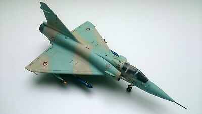 1:48 Monogram 5446 - Mirage 2000 with Exocet Missiles 1/48 gebaut + airbrushed