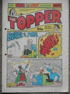 The Topper Comic 26th September 1987 (Issue 1808)