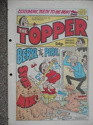 The Topper Comic 22nd August 1987 (Issue 1803)