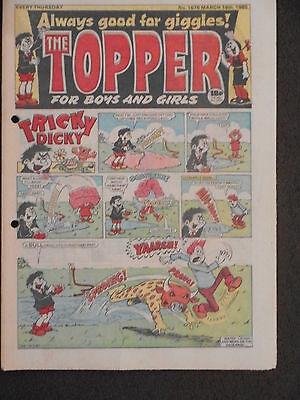 The Topper Comic 16th March 1985 (Issue 1676)