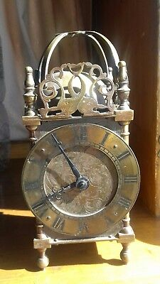 Antique lantern clock