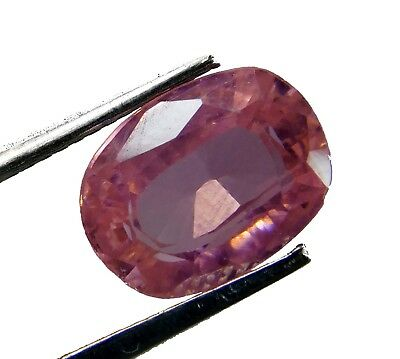 Natural 7.10 Ct. Untreated Oval Cut Kunzite Loose Gemstone. 7186 m