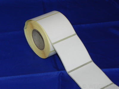58mm x 60mm Plain White Thermal Labels