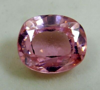 Natural 6.50 Ct. Untreated Oval Cut Kunzite Loose Gemstone. 7022 m