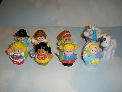 Fisher Price Little People  Female Figures   9 Assorted