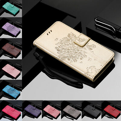 For Samsung Galaxy Note 3 4 5 8 9 Flip Leather Case Magnetic Wallet Stand Cover