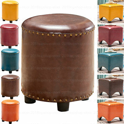 Ottoman Pouffe Footstool Piano Dressing Table Makeup Seat Stool Chair Large