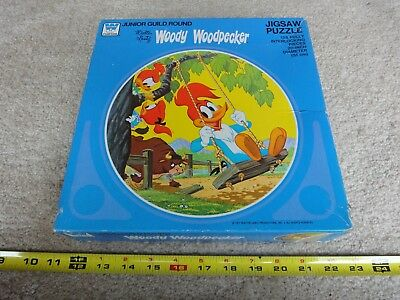 Vintage 1977 Woody Woodpecker 125 piece, Whitman jigsaw puzzle, sealed! Nice!