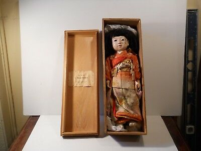 JAPANESE FRIENDSHIP DOLL  1930's gift to a visiting missionary from goverment