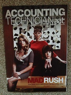 AAT Accounting Technician Magazine Mar/Apr 14 Mad Rush (Mad Men Style) Issue