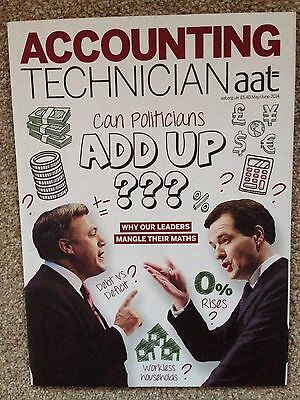 AAT Accounting Technician Magazine May/Jun 14 Can Politicians Add Up???Issue