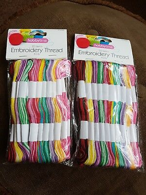 Embroidery thread skeins