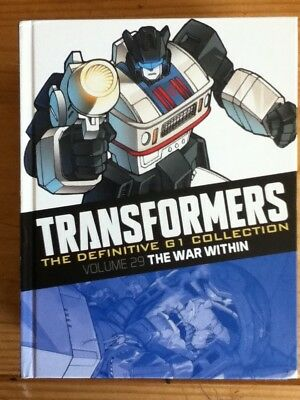 Transformers G1 Definitive. The War Within. Hardback.