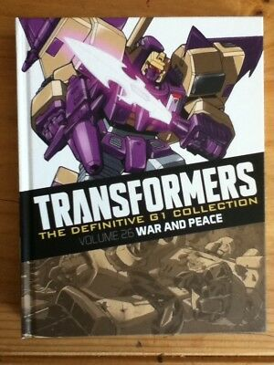 Transformers G1 Definitive. War And Peace. Hardback.