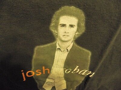 Josh Groban 2004 Closer Tour T-Shirt size Adult Large